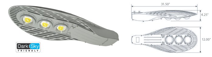 LED Street Light - LED-81xxx-L3 Series