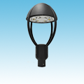 LED Architectural Area / Parking Post-Top Fixture LED-535 Series of LED Post Top Fixtures category Neptun SKU LED-535 Series