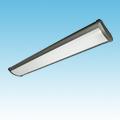 LED - 3' Linear High Bay Fixture - LED-1LH36 Series of LED High Bay and Low Bay Fixtures category Neptun SKU LED-1LH36 Series
