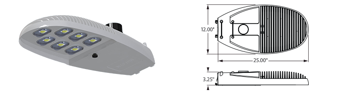 LED - Specification Grade Street Light - LED-779-L7 Series