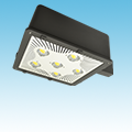 "LED - 16"" Parking / Area Light Fixture - 150W of DLC Listed Products category Neptun SKU LED-16150-UNV-850"