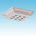 LED - Gas Station / Canopy Fixture - 100W of DLC Listed Products category Neptun SKU LED-22100-UNV-850