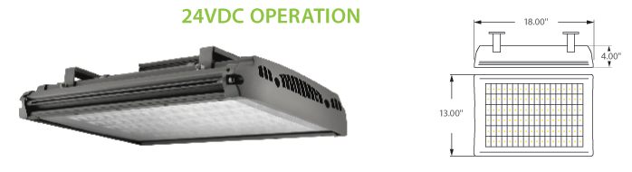 24VDC Solar Compatible LED Canopy Lighting  sc 1 st  Neptun Light & 24VDC Solar Compatible LED Canopy Lighting 24VDC Canopy Lighting