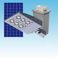 50W GEL Solar Lighting System of Solar Lighting  category Neptun SKU NE-SLR50-GEL-12VDC