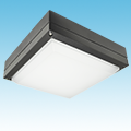 LED - Square Low-Profile Canopy Fixture - LED-123xxx Series of LED Garage/Canopy Fixtures category Neptun SKU LED-123 Series