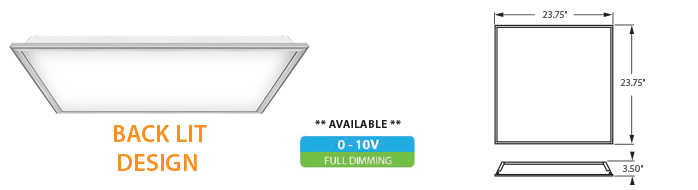 LED - High Output 2x2 Troffer Fixture - LED-51xxx Series