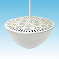LED Sports Lighting LED-Indirect-Pendant-Mount-High-Bay-Fixture