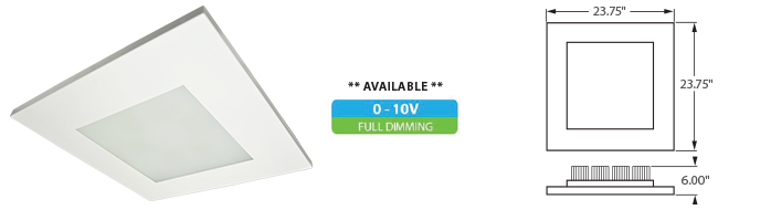LED - 2x2 COB High Output Panel FIxture