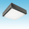 LED - Square Low-Profile Canopy Fixture - LED-122xxx Series of LED Garage/Canopy Fixtures category Neptun SKU LED-122 Series