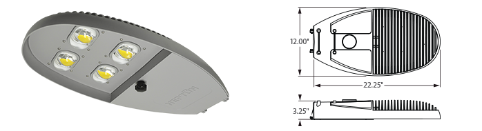 LED - Specification Grade Street Light - LED-777-L4 Series