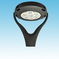 LED - Round Post-Top Area Fixture - 120W of DLC Listed Products category Neptun SKU LED-35120-UNV-850